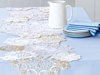 Good Housekeeping Snowflake Table Runner